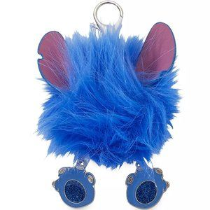 Disney Stitch Fuzzy Bag Charm